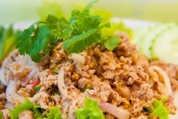 Chicken Mint Salad