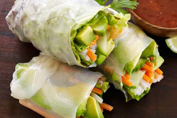 Avocado Fresh Rolls